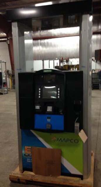 New Gilbarco Encore 700S NA0 E85 Single Sided Dispensers