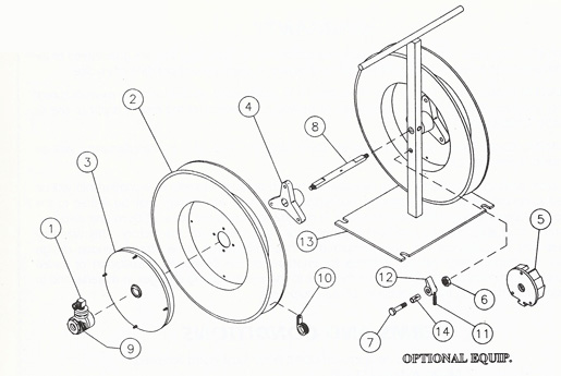 Hose Reel Guardian Parts