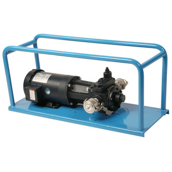 LiquiDynamics 33265 40 GPM Skid Mount Transfer Pump, Non-Viscous Fluids