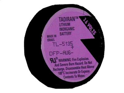Veeder Root 3 6 Volt 1700mah Lithium Battery Tl 5135