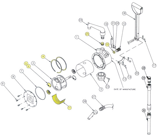 fill rite fuel pump parts  fill  free engine image for
