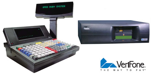 Verifone Ruby and Sappire